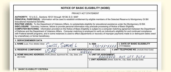 Dd form 2384-1 - Files Bank